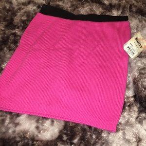 Pink mini skirt Xs